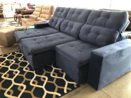 Sofa Retratil e reclinável a pronta entrega ( entrega imediata)