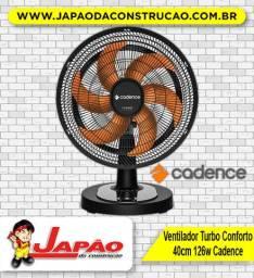Ventilador Turbo 126W Conforto 40cm Cadence VTR478 Oferta Por Tempo Limitado