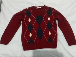 Blusa lã infantil tam 4