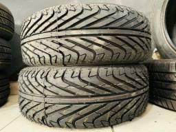 Par de pneus 195/55 aro 15