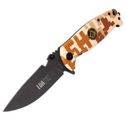 """Canivete Manual com Bainha e Presilha 3,5"""""""
