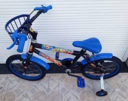 Bicicleta infantil aro 16 # Lucas Neto