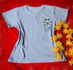Camisetas blusas regatas modinha t-shirts atacado P m g gg Goiânia