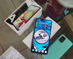 Samsung A71 vendo ou troco por iPhone 8 plus ou xr