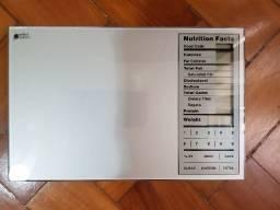 Balança de Cozinha Digital com Informações Nutricionais -Perfect Portions -Nutrition Facts