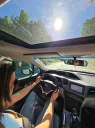 Civic EXS 2012, o mais top da categoria com teto solar