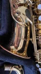Sax alto vogga usado pouquíssimo detalhes