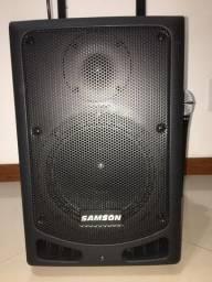 Caixa Amplificadora Samson XP108w