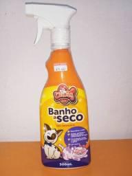 Banho a seco para cães