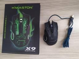 Mouse Gamer H'maston 6 botões