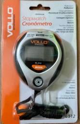 Cronômetro Profissional Vollo Com 10 Memórias Bussola Vl-512