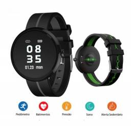 Relogio Smartwatch Compatível Xiaomi Redmi, iPhone, S10, S9