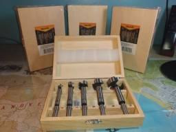 Kit Brocas Forstner Madeira - Sparta [Produto Novo/Embalagem Lacrada]
