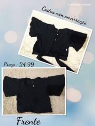 Croppeds e shorts