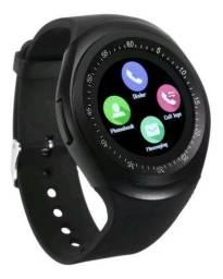Relógio Smart Inteligente Com REDES SOCIAIS CÂMERA BLUETOOTH