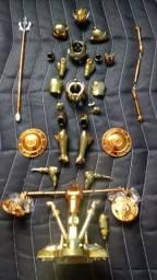 Armadura completa ,head ,object e armas de libra ex bandai