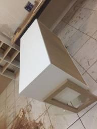 Fuffet Bancada de luxo 3 portas com pés Retrô