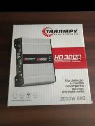 <br>Amplificador Taramps HD3000 com monitor led clip (Lacrado)