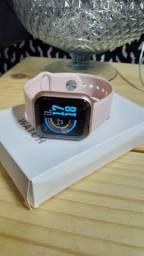 Smartwatch D20' Cores (ROSA E PRETO)