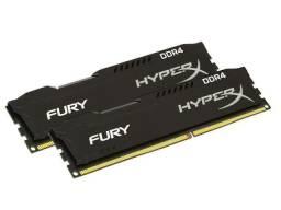 Troco duas memórias RAM de 4 GB por uma de 8 GB
