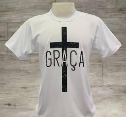 Camisa mensagem bíblica