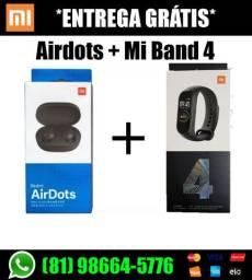 AirDots + Mi Band 4