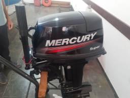 Motor Mercury 15/18 Hp, ano 2019 - Novissimo