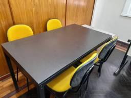 Vendo mesa ferro Tok Stok
