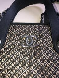 Bolsa Chanel Palha