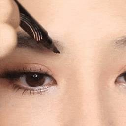 caneta modeladora de sobrancelhas