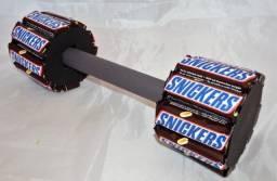Hateres (peso) de chocolate snackers   presente dia dos namorados