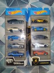 Hotwheels pacote com 5 carros