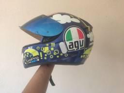 Capacete AGV K3 Face Valentino Rossi Original