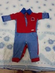 Roupinhas de bebê novas e usadas
