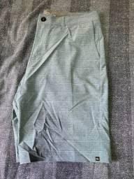 Bermuda Quicksilver Azul Tam 34 Novo R$150,00