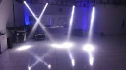 Kit iluminação para festa