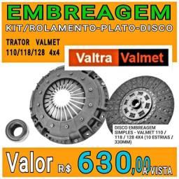 EMBREAGEM TRATOR VALMET 110-118-128 4X4