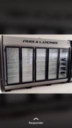Expositor frios e laticínios 5 portas - Fernando