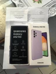 Samsung A52 5G lilás zerado!!!