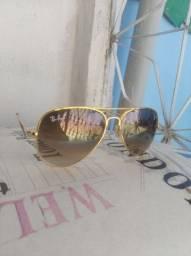 Óculos de sol Rayban Dourado, 70R$