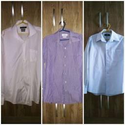 03 camisas sociais promoção