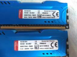 Memórias 4gb DDR3 1866Mhz