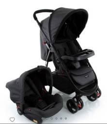Carrinho de bebê Travel System Nexus Preto Mescla Cosco