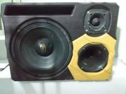 Trio caixa de som