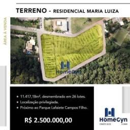 Área para construção de condomínio fechado próximo ao Fórum em Aparecida de Goiânia