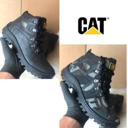 Lançamento adventure exteme original couro confortavel botas CAT confortável