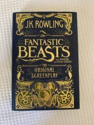 Livro fantastic beasts and where to find them original screenplay