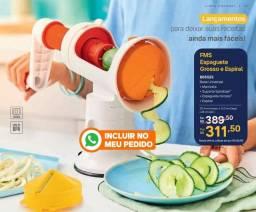 FMS Espaguete Grosso e Espiral Tupperware