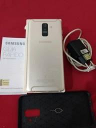 Vende-se Samsung Galaxy A6 + funcionando 100%
