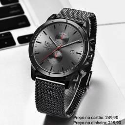 Relógio Masculino Original Lige Funcional Premium ( Atendimento via WhatsApp)